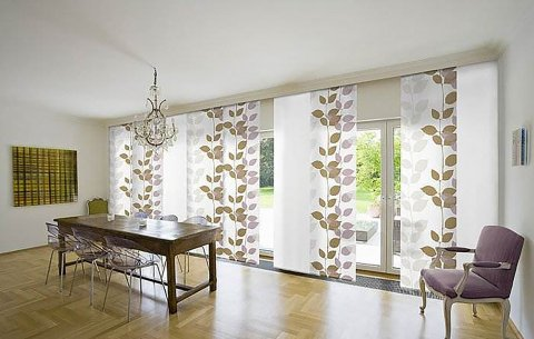 Sliding Panel Blinds Caribbean Window Covering